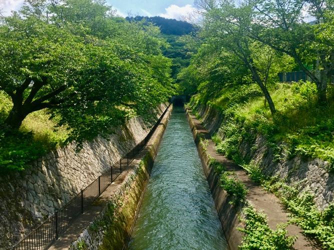 River Canal in Shiga