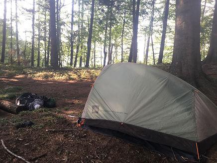 Camping on the Tokai Nature Trail (Tokai Shizen Hodo)