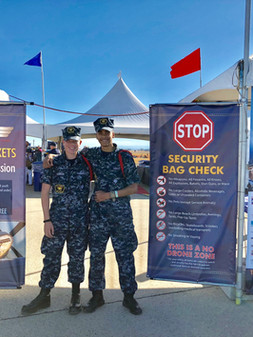 Capital Airshow Security Duty 3