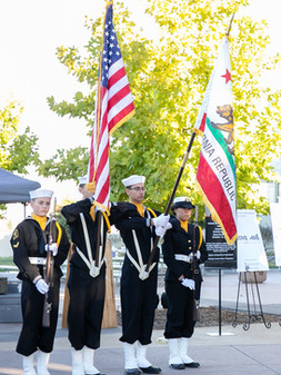 Color Guard William Jessup Veterans Honor Run