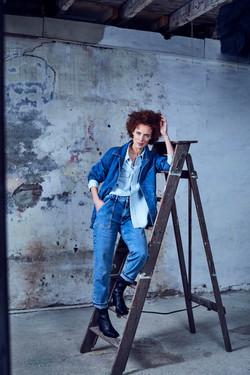 denim, blue, blue monday, jeans, models, fashion, editorial,