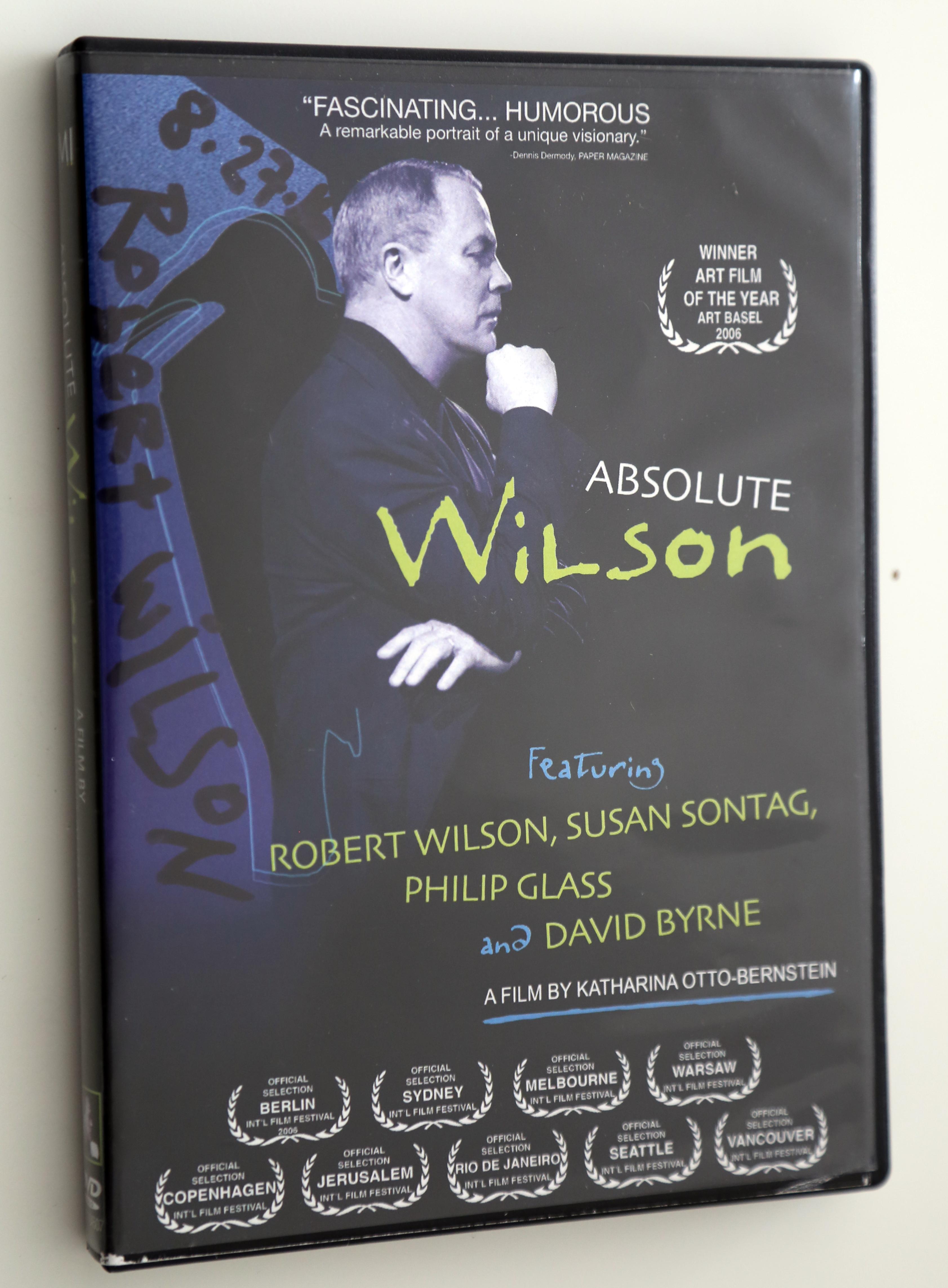 Robert Wilson - dvd