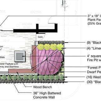Courtyard Concept Plan