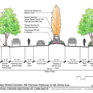 Halsey Street Section