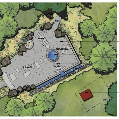 Prayer Garden Plan