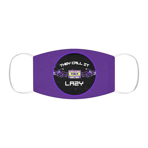 """Purple """"They Call It Lazy"""" Mask"""