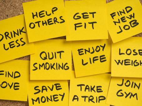 New Years Resolutions - 7 secrets to keeping them!