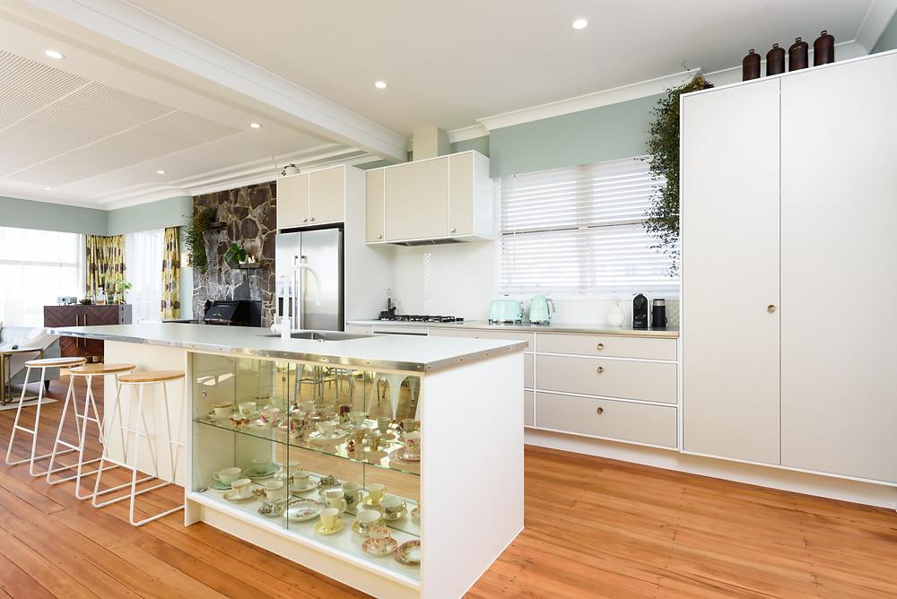 Floors: Bona Natural waterborne lacquer