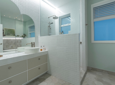 Bathroom renovation for a busy family
