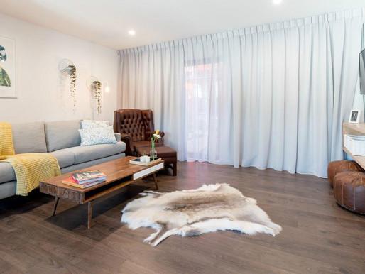 The Block room reveals - hard flooring