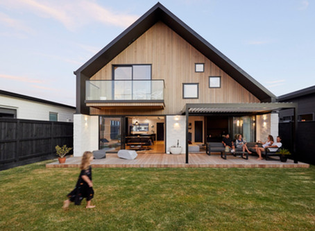 Spacious home design comes to life on narrow site