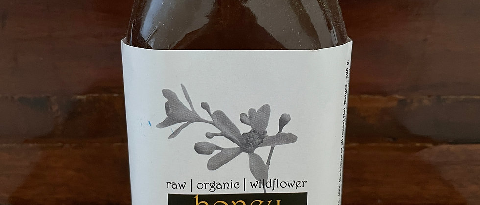 Organic Raw Honey- (500 gms)