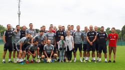 staż z pierwszą drużyną Legii Warszawa (sierpień 2019)