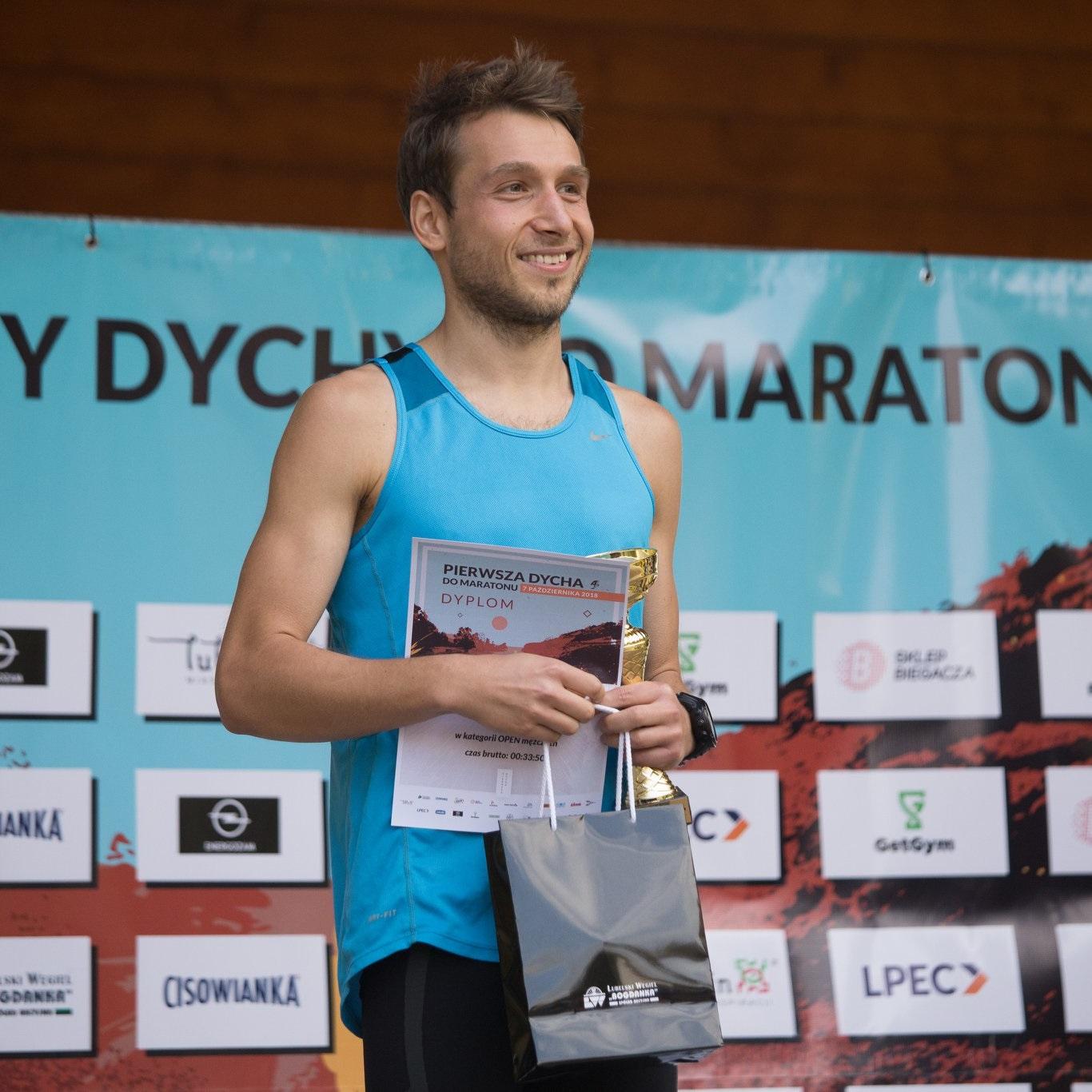 I Dycha do Maratonu 2018 (2 miejsce)