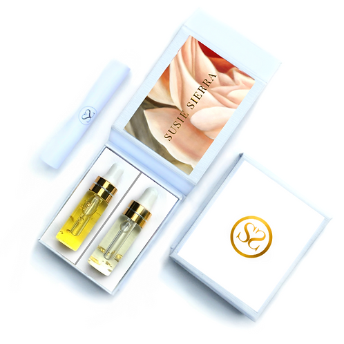 SIERRA GOLD Gift Set Morning & Evening Face Oils