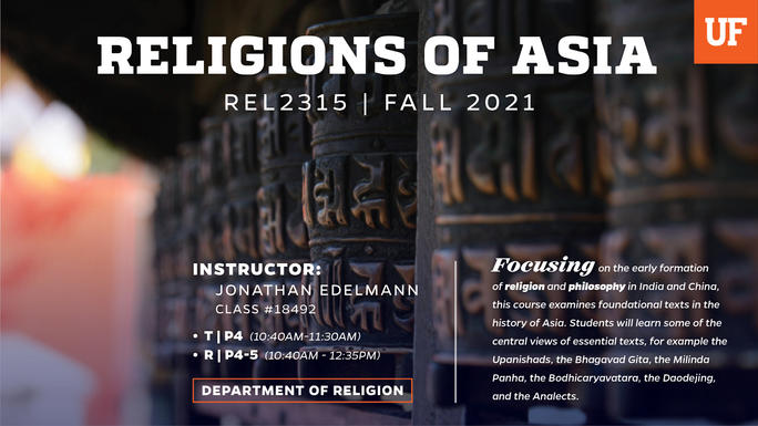 Religions of Asia Banner