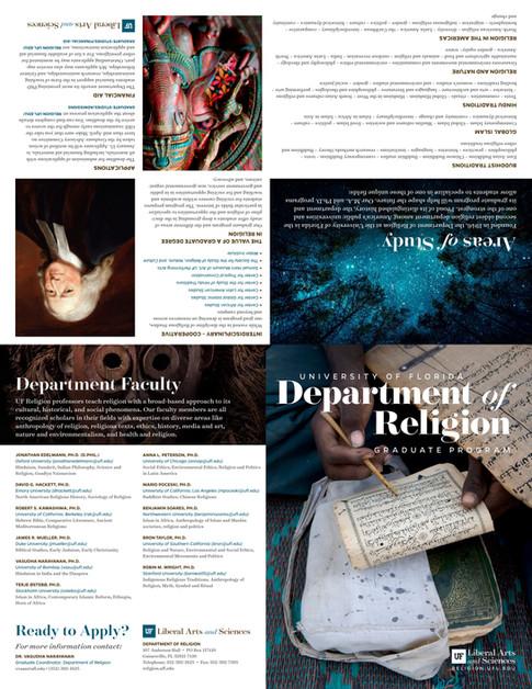 Religion - UF Graduate Program Brochure (2/2)