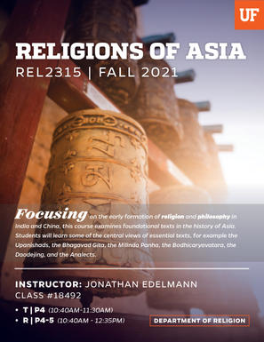 Religions of Asia Poster