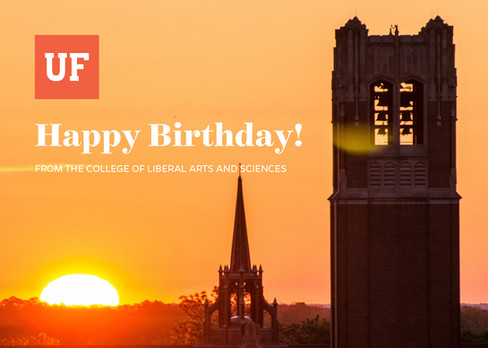 UF Happy Birthday Card (4/4)