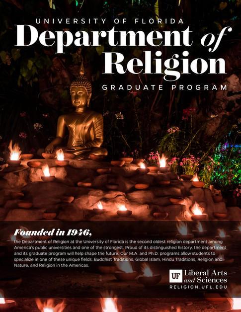 Religion - UF Graduate Program Brochure (1/2)