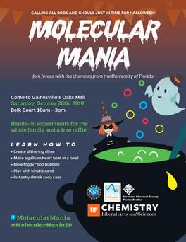Molecular Mania Flyer