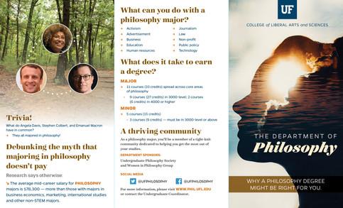 Philosophy Brochure (1/2)
