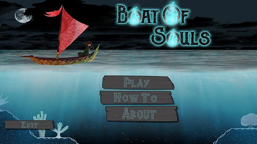 Boat of Souls Main Menu