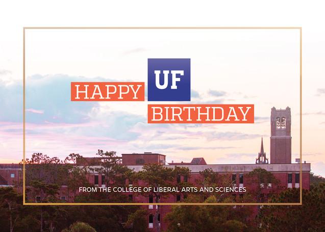 UF Happy Birthday Card (2/4)