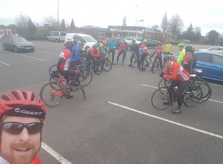 Club rides are proving to be popular!