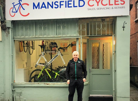 New cycling shop opened in Pleasley