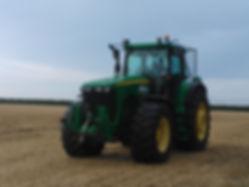 Tractor rides at Saplins Nursery, Henham
