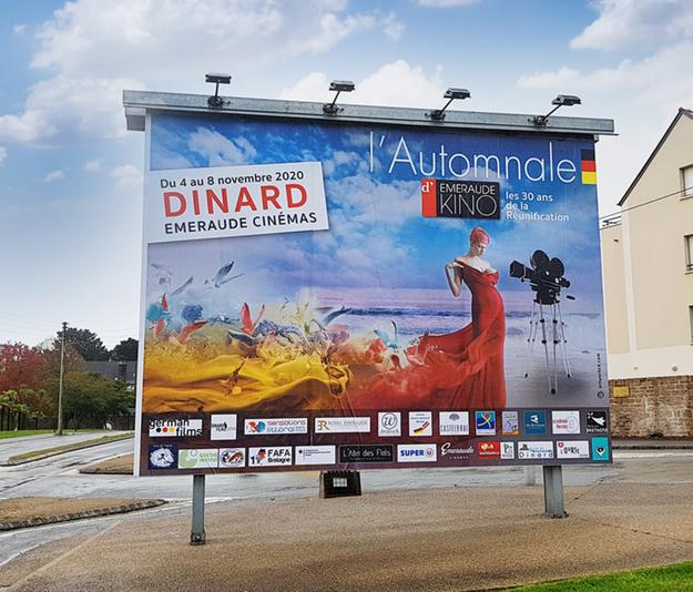 Réalisation de l'affiche du festival du film allemand