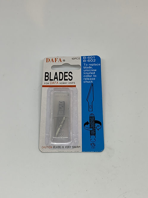 Ersatzklingen für Bastelmesser/Bastelskalpell