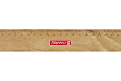 Holzlineal, 30 cm