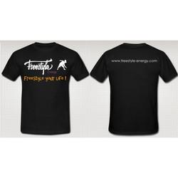 Freestyle Energy Black T-shirt