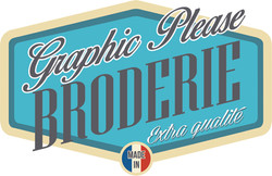 Graphic Please Broderie