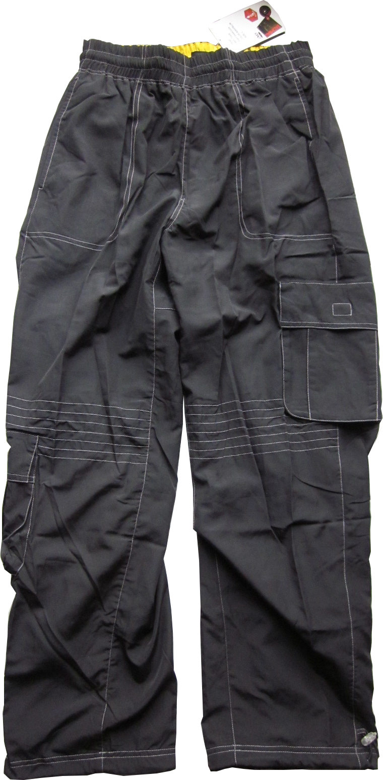 Pants Suit Black&Yellow Komball