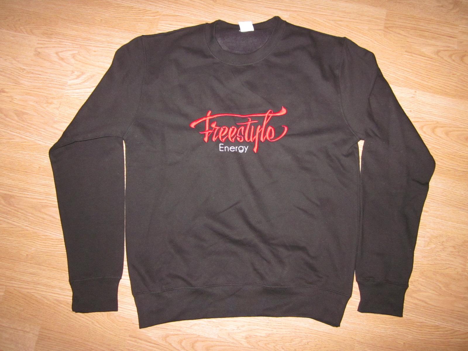 Freestyle Energy black hooded