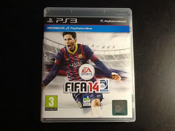 Video game FIFA14 for PS3