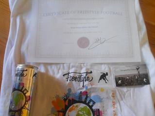 BEJ10 winner of FWF Battle, received his gifts ! / BEJ10 vainqueur de la Battle FWF, a reçu ses cade