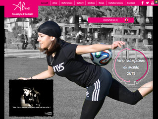 New version of Alice Fougeray's website / Nouvelle version du site d'Alice Fougeray
