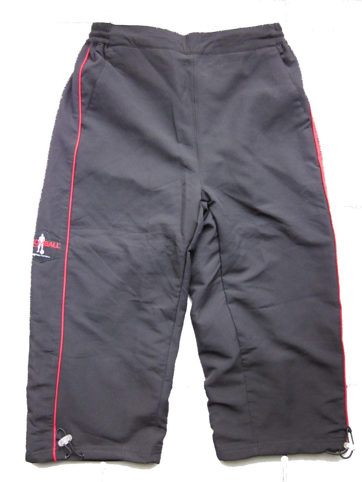 Capri Pants Black&Red Komball