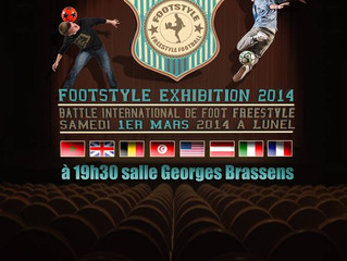 LUNEL 2014 - FOOTSTYLE EXHIBITION