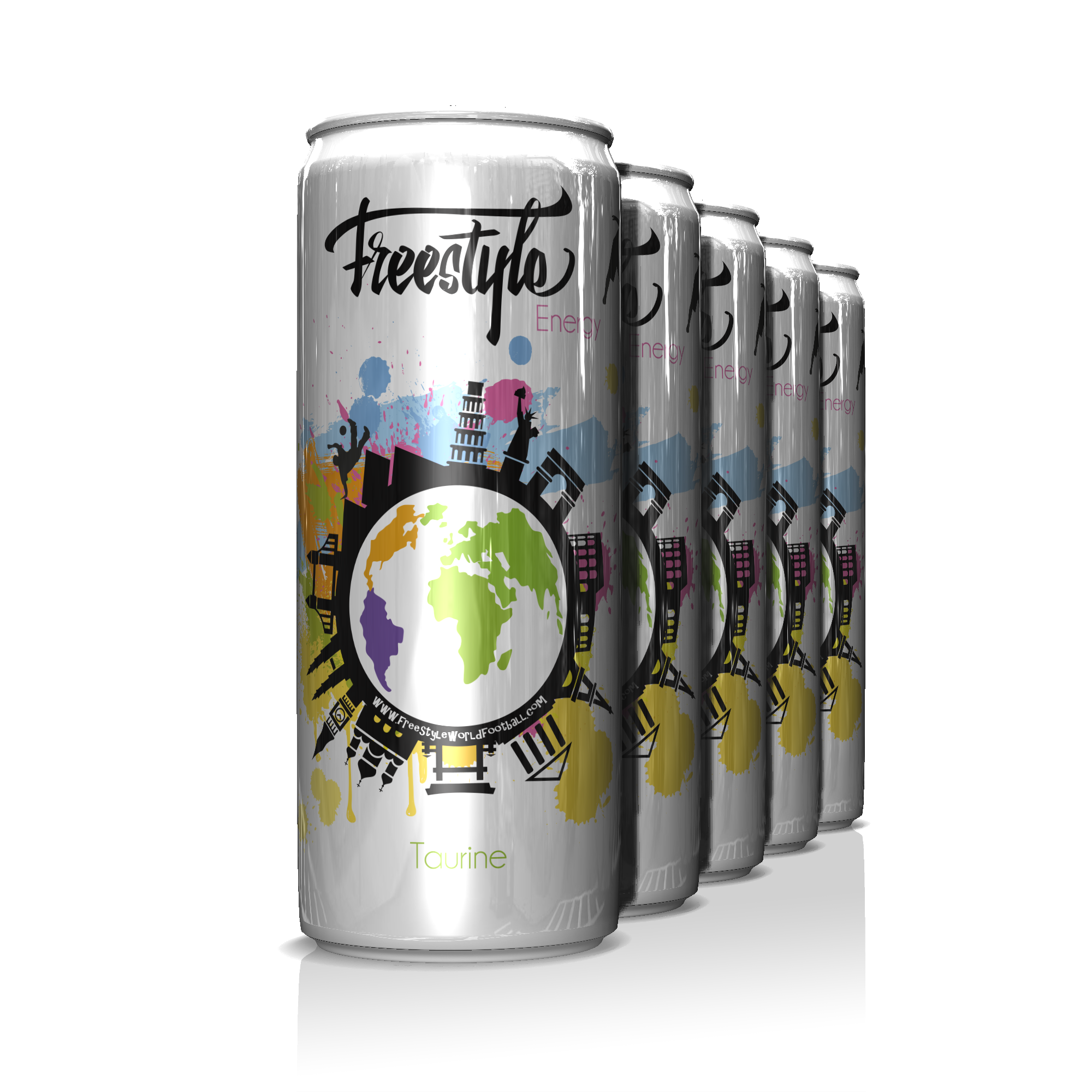Cans of Freestyle Energy