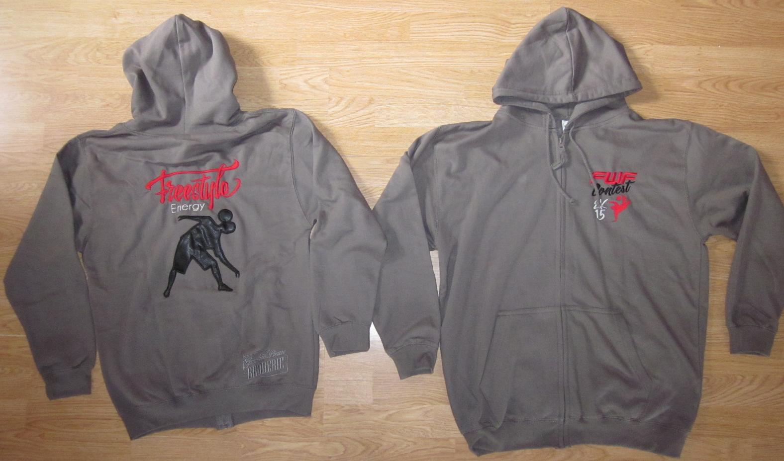 Jacket zipped FWF Contest 2K15
