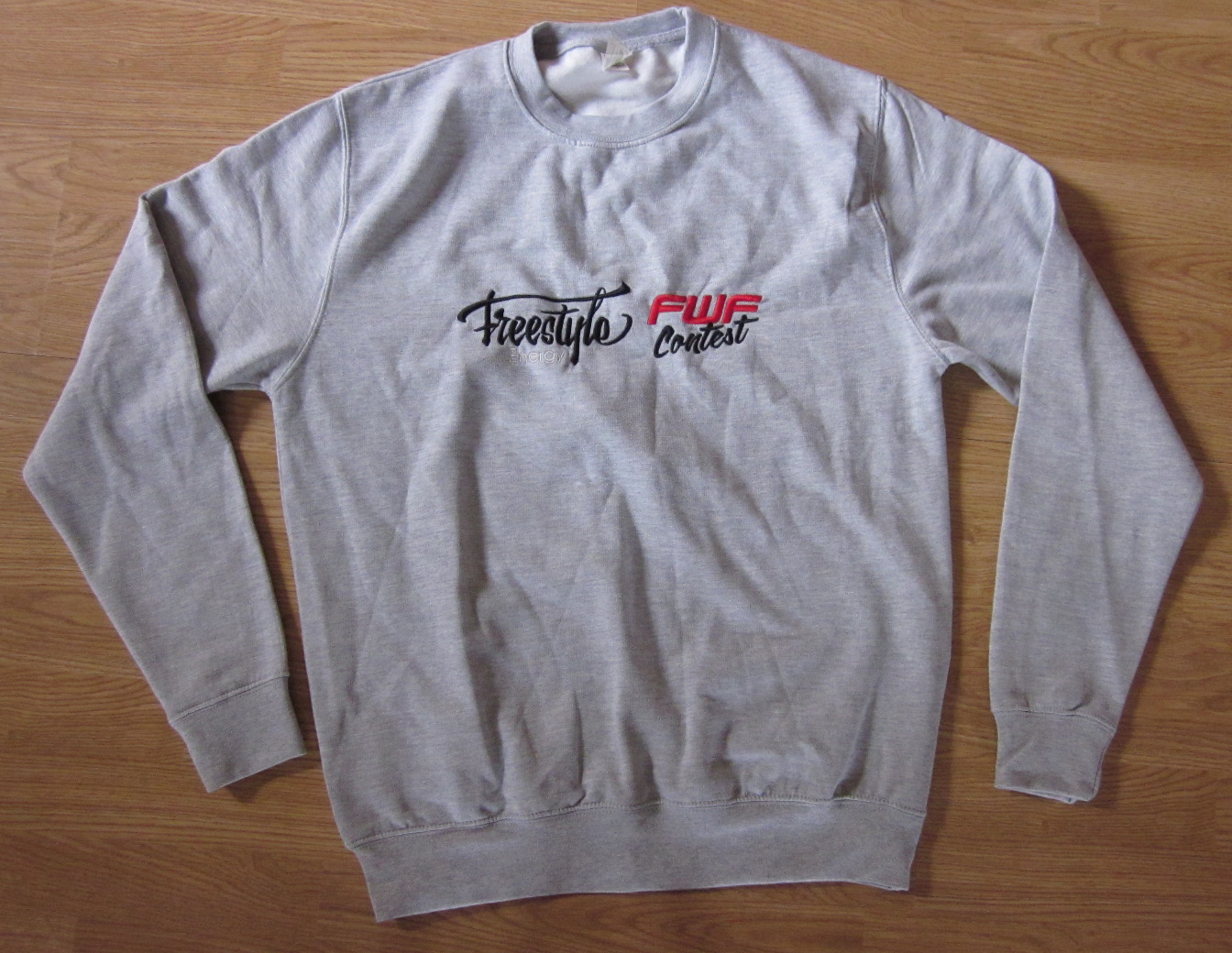 Grey FWF Contest Sweatshirt