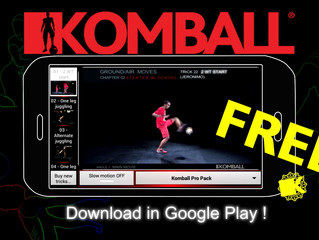 Try now the Komball Mobile App ! / Essayez l'application mobile Komball !