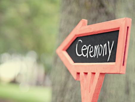 Hands Up... Who Doesn't Know What a 'Celebrant' is?