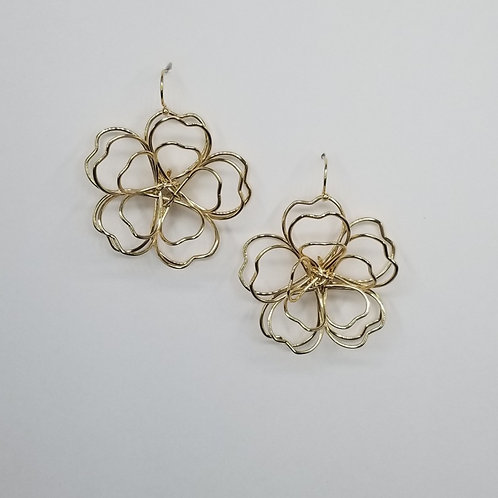 Gold Wired Flowers