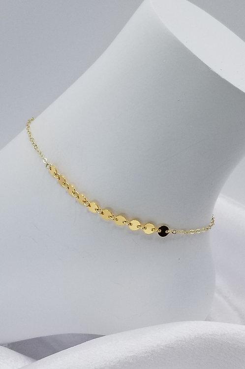 14k Gold Fllled Chain Anklet
